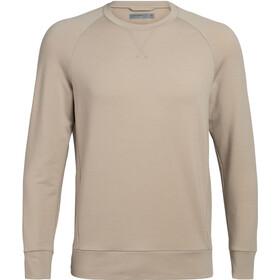Icebreaker Momentum T-shirt manches longues à col ras-du-cou Homme, british tan